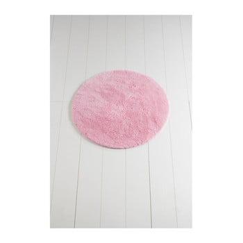Covor de baie Colors of Cap, ⌀ 90 cm, roz imagine
