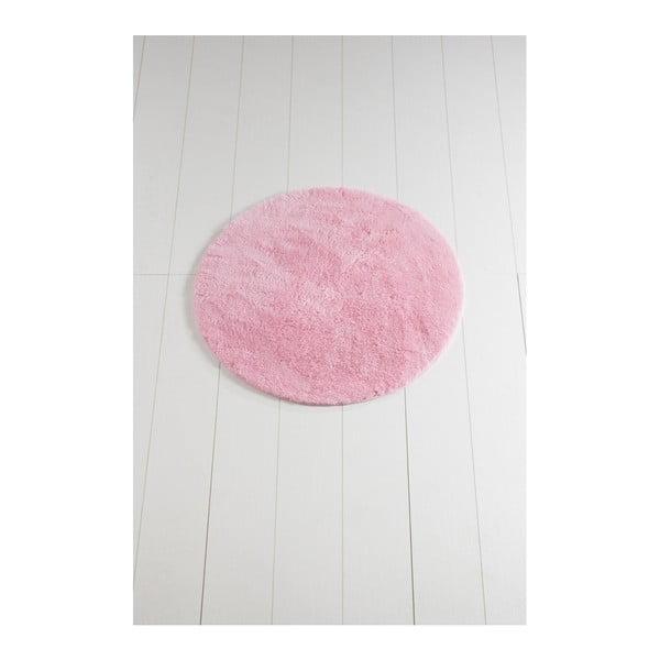Covor de baie Colors of Cap, ⌀ 90 cm, roz