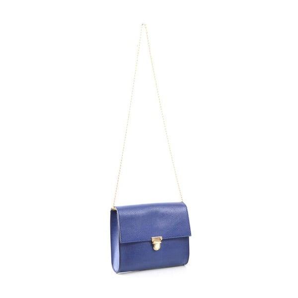 Kožená kabelka Jennifer, modrá