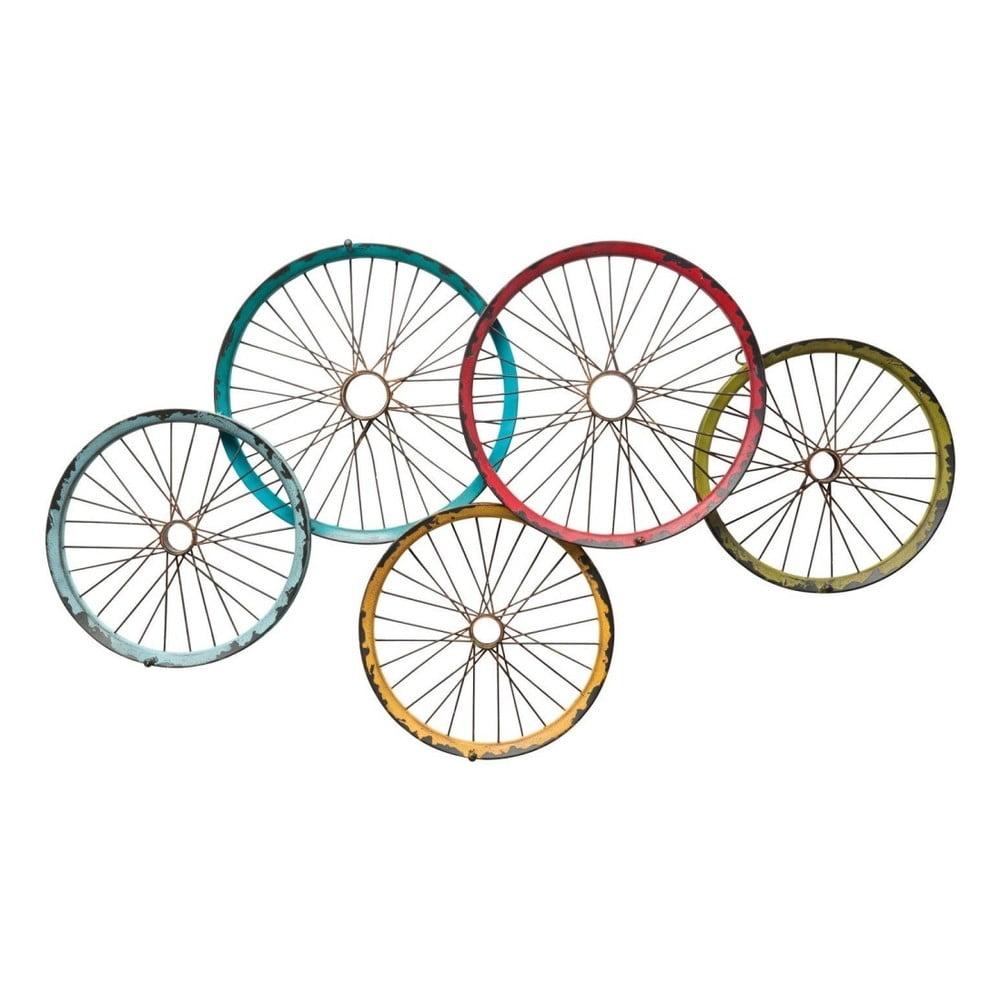 Nástěnný věšák Kare Design Wagon Wheels