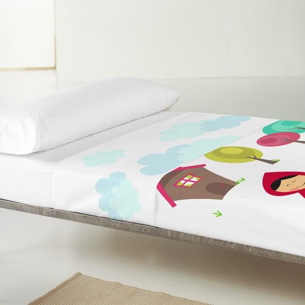 Dětský povlak na polštář a přehoz Mr. Fox Grandma, 100x130 cm