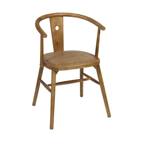 Krzesło do jadalni z drewna wiązu Santiago Pons Curve