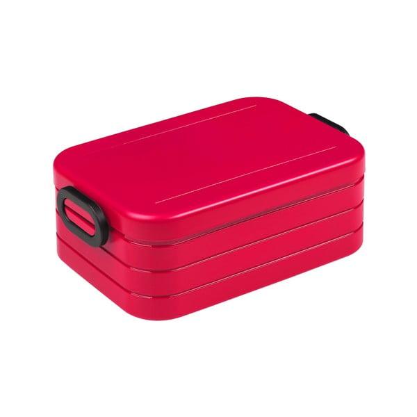 Červený box na oběd Rosti Mepal Ellipse Take a Break, 18,5x12cm
