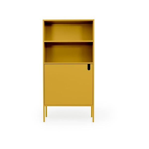 Žlutá skříň Tenzo Uno, šířka 76cm