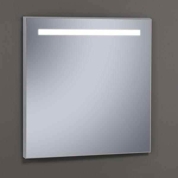 Zrcadlo s LED osvětlením Miroir, 60x80 cm