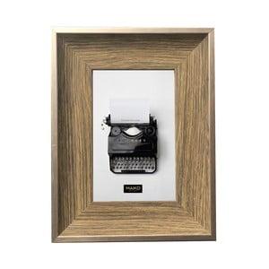 Nástěnný rámeček Maiko Wood,15x20cm