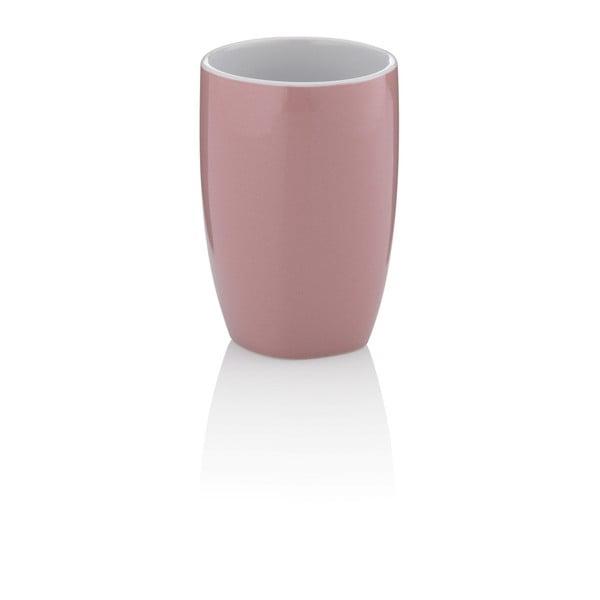 Starorůžový keramický pohárek Kela Lindano
