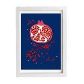 Plakát Indigo Pomegranate