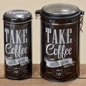 Sada 2 dóz na kávu Coffee Typo