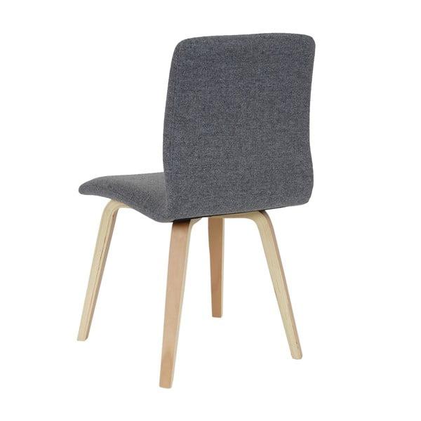 Sada 2 jídelních židlí Mendler Mountains Grey Textile