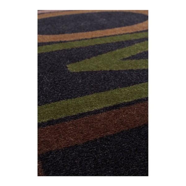 Rohožka Bonjour 670 Black, 60x90 cm