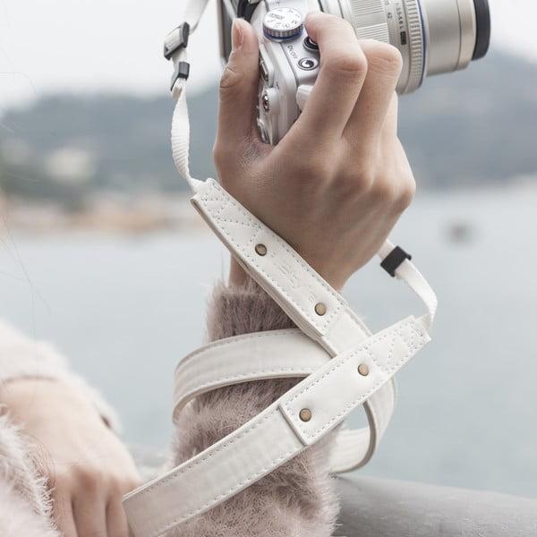 Popruh na foťák Cream White