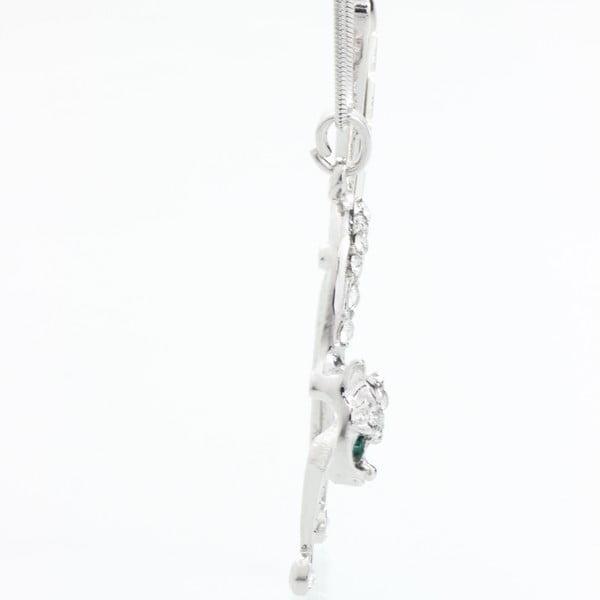 Brož se Swarovski krystaly Laura Bruni Cat