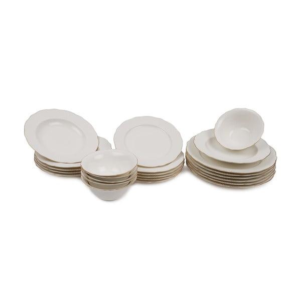Francis 24 db-os porcelán tányérkészlet - Kutahya
