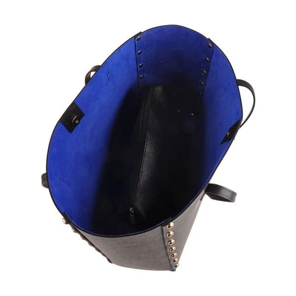 Kabelka Classe Regina Black Blue T 102