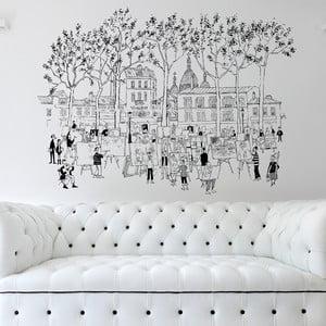 Samolepka Montmarte, 110x142 cm
