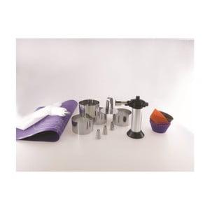 14dílný kuchyňský set Steel Functionn Goumet Kit Bage