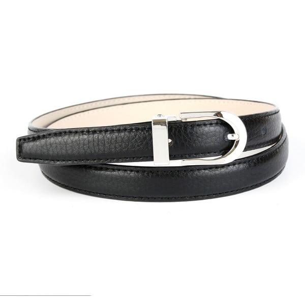 Dámský kožený pásek 13T10 Black, 90 cm
