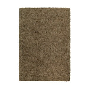 Koberec Shaggy 160x230 cm s 3 cm dlouhým vlasem, hnědý