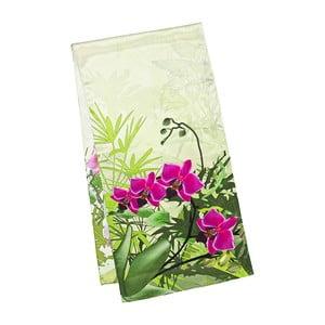 Šátek z hedvábného saténu Von Lilienfeld Orchids