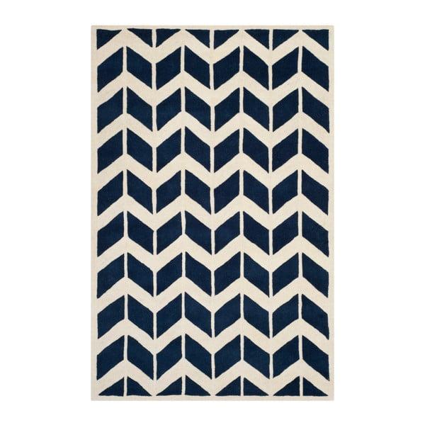 Modrý koberec Safavieh Brenna, 182 x 274 cm