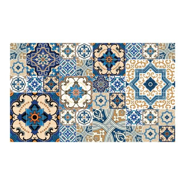Sada 60 dekoratívnych samolepiek na stenu Ambiance Toundra, 10×10 cm