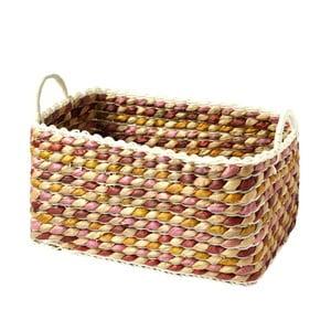 Ručně pletený košík a'miou home Kaleo, 40x30cm