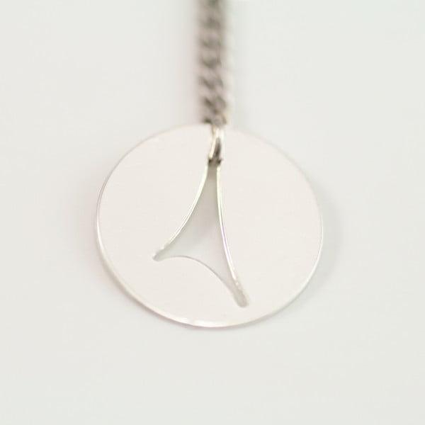 Náušnice Eiffel Silver