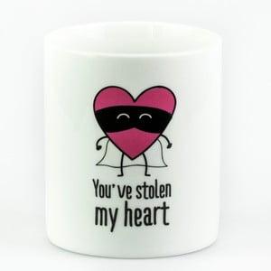 Cană Mr. Wonderful You've stolen my heart, 350 ml