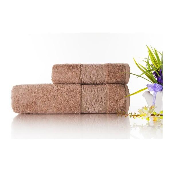 Sada 2ks ručníků Bamboo Glory Powder, 50x90 cm a 70x140 cm