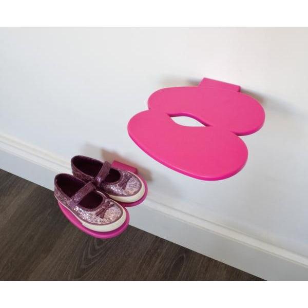 Police na dětské boty J-ME Footprint, růžová