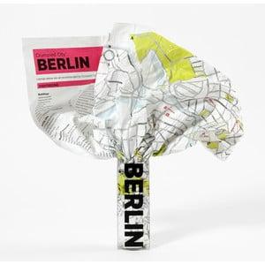 Zmačkaná cestovní mapa Palomar Berlín