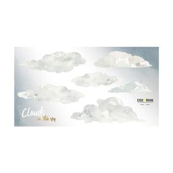 Set autocolante de perete Dekornik Clouds imagine