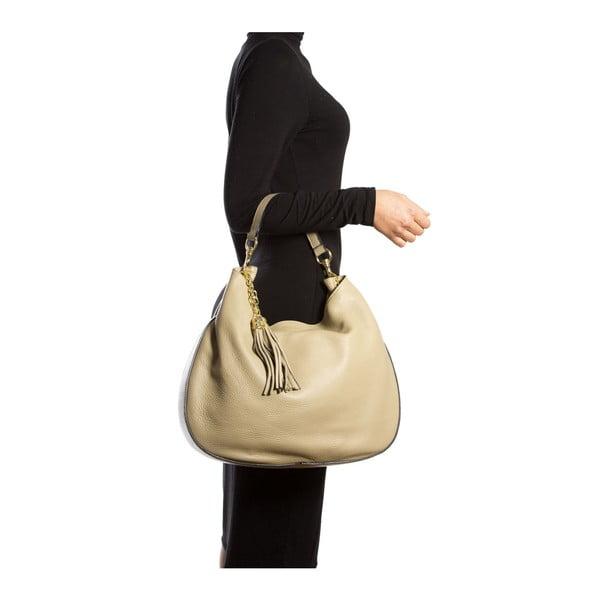 Kožená kabelka Isabella Rhea 1118 Fango