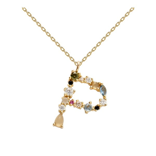 Pozlacený náhrdelník PD PAOLA Monogram P