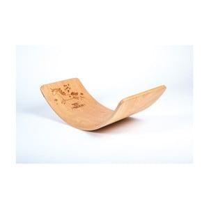 Bukové houpací prkno Utukutu Jednorožec, délka82cm