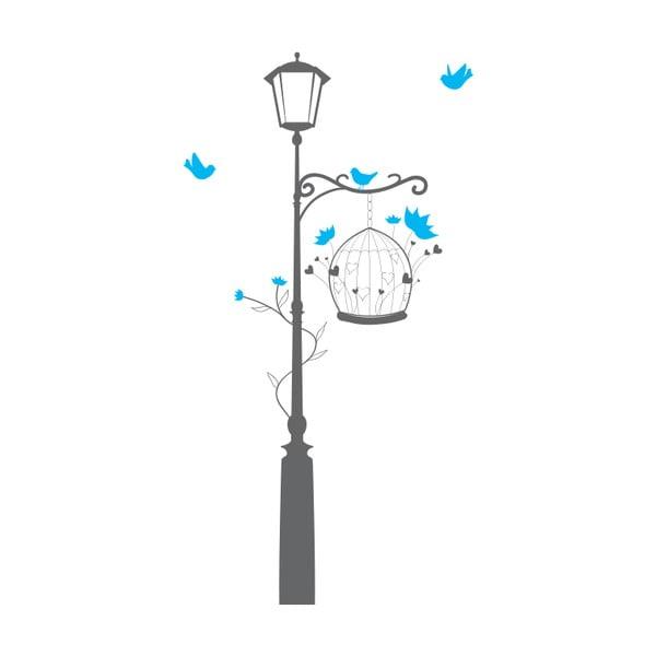 Samolepka Pod lampou, 150x54 cm
