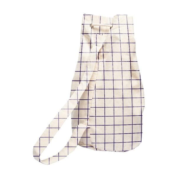 Simply Squares egyszerű szövetzsák, 43 x 43 cm - Linen Couture