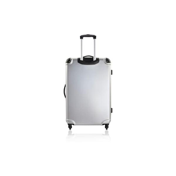 Cestovní kufr Weekend Silver, 75 l