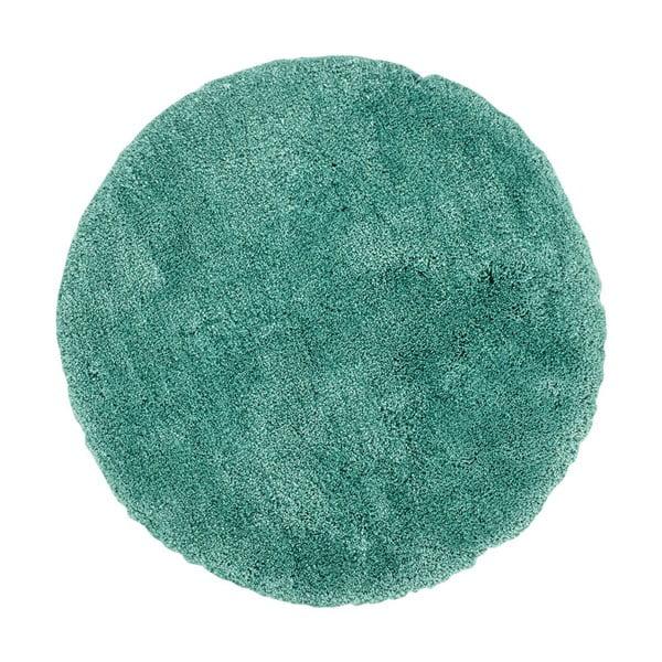 Zelený ručně vyráběný koberec Obsession My Carnival Car Jade, ⌀80 cm