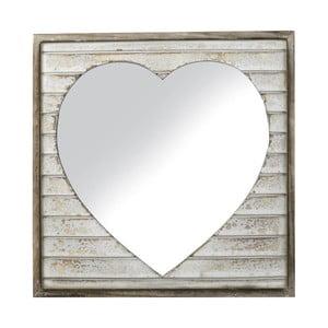 Zrcadlo Wood Heart