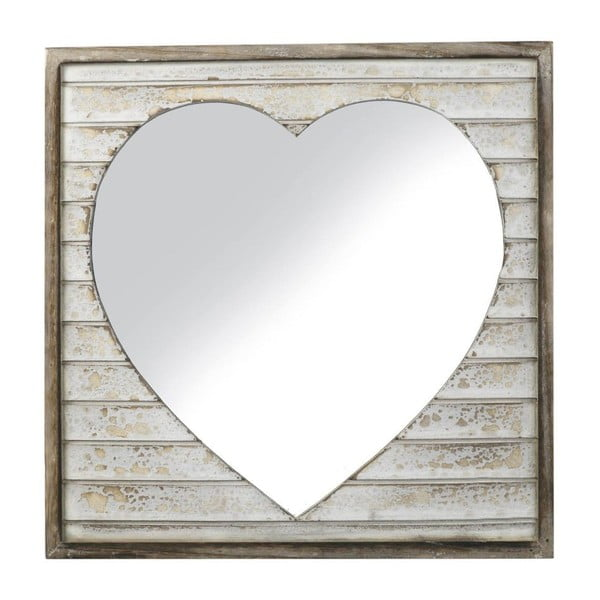 Zrcadlo Wood Heart