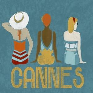 Obraz na plátně Marmont Hill Cannes, 61 x 61 cm