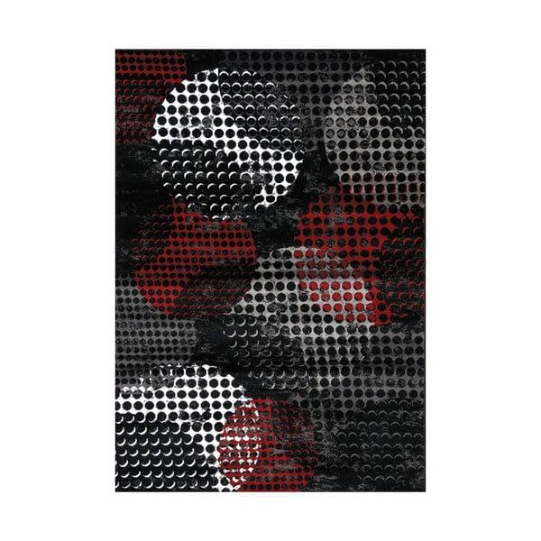 Manhattan Broadway fekete-szürke szőnyeg, 160 x 230 cm - Webtappeti