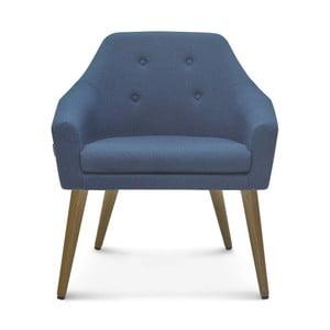 Modrá jídelní židle Fameg Bendt