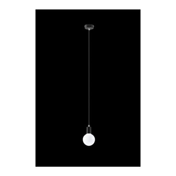 Lustră Nice Lamps Bombilla Black