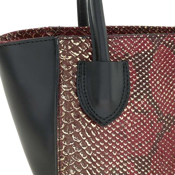 Kožená kabelka Kossie Red