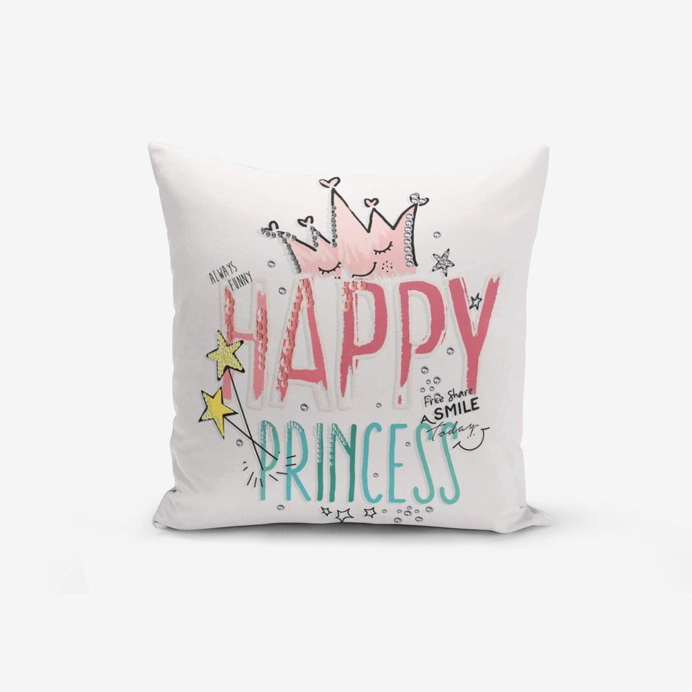 Povlak na polštář s příměsí bavlny Minimalist Cushion Covers Princess, 45 x 45 cm