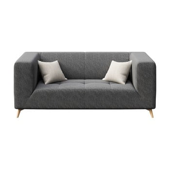 Canapea cu 2 locuri MESONICA Toro gri închis