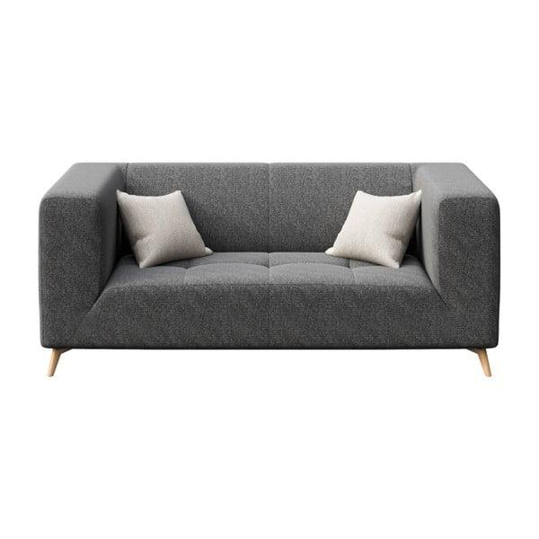Toro sötétszürke kétszemélyes kanapé - MESONICA
